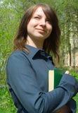 L'étudiant avant inspection Image libre de droits