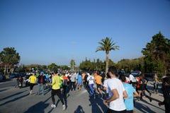 L'événement de puma courent le lac - Athènes, Grèce photo stock