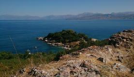 L'île de Corfou images stock