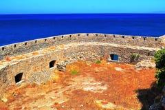 Le pirate Barbaros de forteresse Image libre de droits