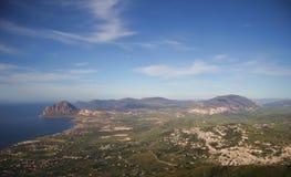 L'île de la Sicile Image libre de droits