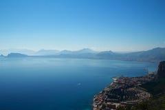 L'île de la Sicile, Palerme Image libre de droits