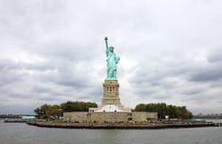 Île de liberté à New York image libre de droits