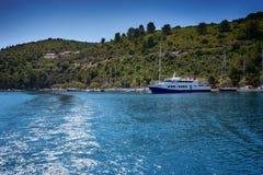 L'île de Paxos, Grèce photos libres de droits