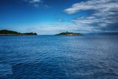 L'île de Paxos, Grèce images libres de droits