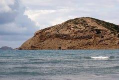 L'île de Rhodes La Grèce Image stock