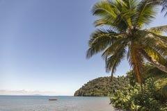 L'île de Tsarabanjina dans l'archipel de Mitsio près de fouineur soit, le Madagascar Photo libre de droits