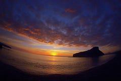 l'île des fantômes Image libre de droits