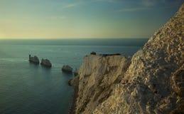 L'île des pointeaux de Wight Images libres de droits