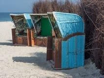 L'île du helgoland Photos libres de droits