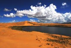 L'île du sable Images libres de droits