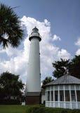 L'île Georgia Lighthouse 2 de St Simon Photo stock