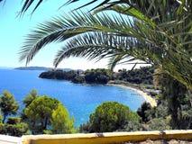 L'île grecque Skiatos Photos libres de droits