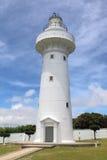 L'île la plus la plus au sud de la péninsule de Taïwan Hengchun, parc national de Kenting --- Eluanbi sur le phare tient 18 je Images libres de droits