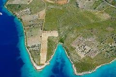 l'île primosten Images stock