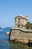 L'île Tabarca Photos libres de droits
