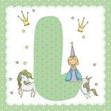 L письмо алфавита для детей Стоковые Фото