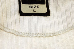 l средств размер рубашки стоковая фотография