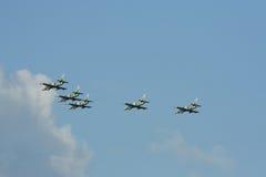 L-39皇家泰国空军Albatros  免版税库存图片