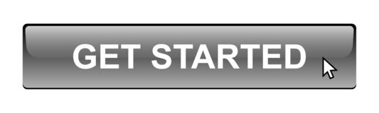 Get started button. Simple get started button editable vector illustration on isolated white background royalty free illustration