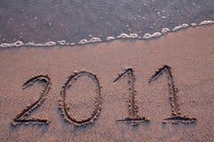 L'an 2011 vient Image libre de droits