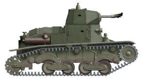 L-6/40 Vlammenwerper vector illustratie