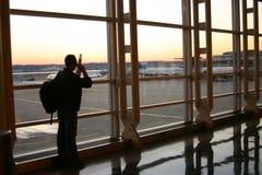 L'aéroport Images libres de droits