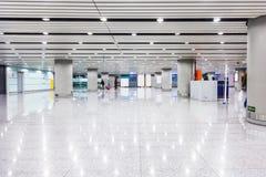 L'aéroport chez Pékin en Chine Images libres de droits