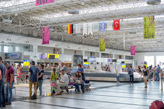 L'aéroport d'Antalya La Turquie Photo stock