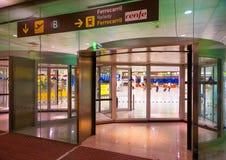 L'aéroport de Barcelone Image libre de droits