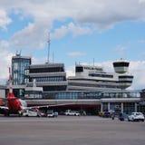 L'aéroport de Berlin Tegel Otto Lilienthal (TXL) à Berlin, Allemagne Photos libres de droits