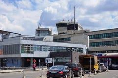 L'aéroport de Berlin Tegel Otto Lilienthal (TXL) à Berlin, Allemagne Photographie stock libre de droits