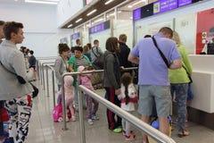 L'aéroport de Burgas Photo libre de droits