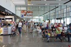 L'aéroport de Burgas Images stock