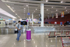 L'aéroport de Burgas Image libre de droits