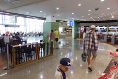L'aéroport de Burgas Photos stock