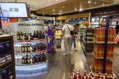 L'aéroport de Burgas Photographie stock libre de droits