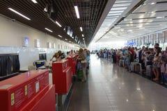 L'aéroport de Burgas Photo stock