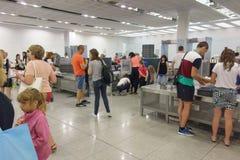 L'aéroport de Burgas Images libres de droits