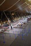 L'aéroport de Changhaï Photo stock
