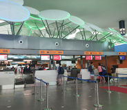 L'aéroport de KLIA 2 en Kuala Lumpur, Malaisie Image stock