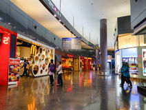 L'aéroport de KLIA 2 en Kuala Lumpur, Malaisie Image libre de droits