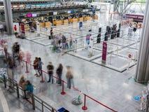 L'aéroport de Stuttgart est l'aéroport international de Stuttgart Photos libres de droits