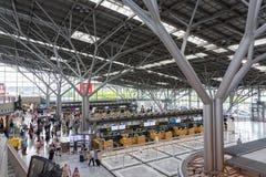 L'aéroport de Stuttgart est l'aéroport international de Stuttgart Photo libre de droits