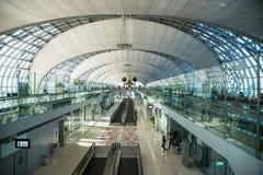L'aéroport de Suvarnabhumi (BKK) est le hub principal pour Thai Airways Image stock