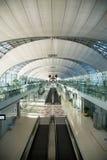 L'aéroport de Suvarnabhumi (BKK) est le hub principal pour Thai Airways (les TG) Image stock