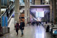 L'aéroport de Téhéran interier Images libres de droits