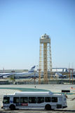 L'aéroport fond LAX Los Angeles Photographie stock libre de droits