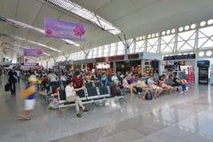 L'aéroport international de Da Nang et le x28 ; DAD& x29 ; au Vietnam Images stock