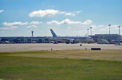 L'aéroport LIS de Lisbonne Portela Image libre de droits